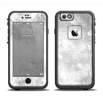 The White Cracked Rock Surface Apple iPhone 6/6s Plus LifeProof Fre Case Skin Set