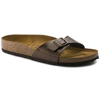Birkenstock Madrid Birko Flor Graceful Toffee 239513 Sandals - Best Deal Online
