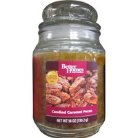 Better Homes and Gardens 18 oz Candle, Candied Caramel Pecan - Walmart.com