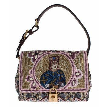 Dolce & Gabbana MISS BONITA Knight King Python Hand Shoulder Bag