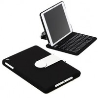 Sharkk SK362 Wireless iPad Mini Bluetooth Keyboard Case - Black