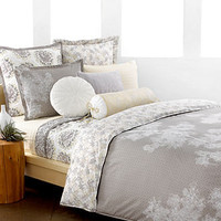 Style&co. Bedding, Snow Willow Pair of European Shams - Bedding Collections - Bed & Bath - Macy's