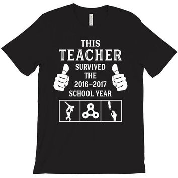 This Teacher Survived The 2016 2017 School Year T-Shirt