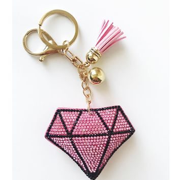 Diamond Keychain