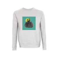 Women'S Raglan Sweat-Shirt Cactus - Ultra Tee Brand