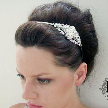 10  OFF Beautiful Bridal Headband Inspired from by MyMEMENTO