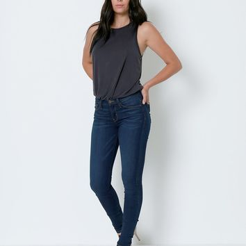 All Time Favorite High Rise Skinny Denim Jeans - Blue