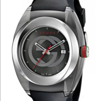 GUCCI fashion trendy men and women watch F-PS-XSDZBSH Black