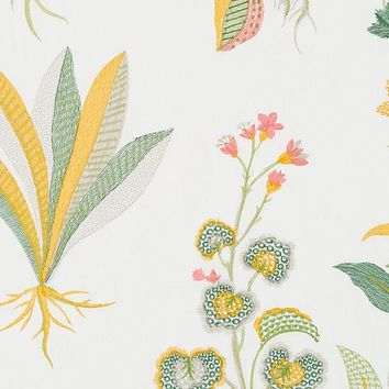 Robert Allen Fabric 248605 Monsoon Palace Daffodil