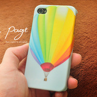 apple iphone case : Colorful hot air balloon from nappage