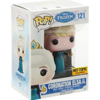 Funko Disney Pop! Frozen Coronation Elsa Vinyl Figure Hot Topic Exclusive
