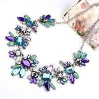Fresh Wild  Delicate Flowers Necklace