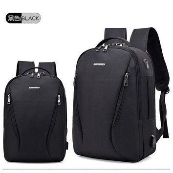 University College Backpack Big Capacity Men  External USB Charger Women Travel Waterproof Student School Bags Teenage  Laptop BagAT_63_4