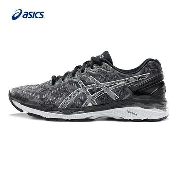 PEAPON Original ASICS GEL-KAYANO 23 Men's Night Running Stability Running Shoes ASICS Sports Shoes Sneakers free shipping