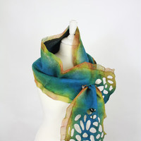 Felted scarf NEW collection 2012 special and wears marvellously