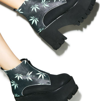 Hot!MeSS Da Reefa Platform Boots Multi