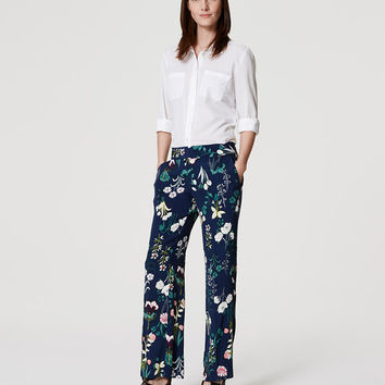 Valley Floral Trousers | LOFT