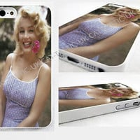 Marilyn Monroe case Cover iPhone 4>4s>5>5s>5C bubble gum/VTG/Vintage/pink/tattoo