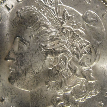 Morgan Silver Dollar, 1902 Silver Dollar Coin, Silver Coin, Morgan Dollar Coin, Silver Dollar US Collectibe Coin, 1902 O Coin, Morgan Dollar