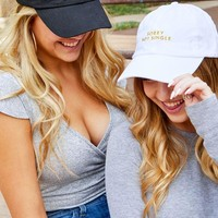 Sorry Not Single   Sorry Not Sorry - Bachelorette party dad hats