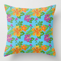Hawaiian Tropical Pillow