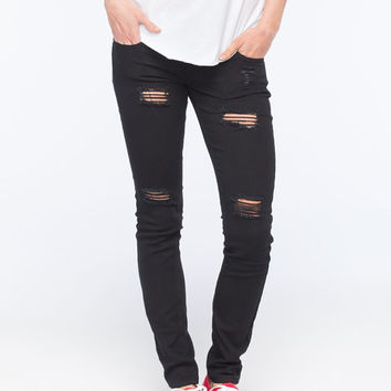 Rsq Ibiza Womens Skinny Jeans Black  In Sizes