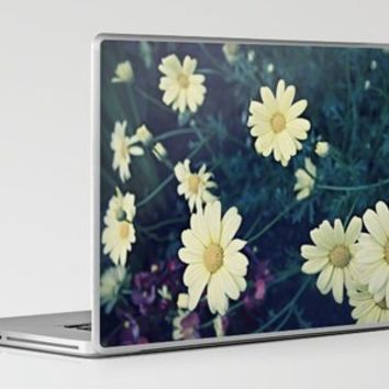 Flowers Polaroid Laptop & iPad Skin by Leah Flores | Society6