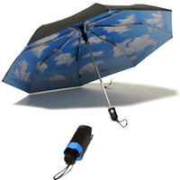 Mini Sky Umbrella with Auto-Open, Auto-Close