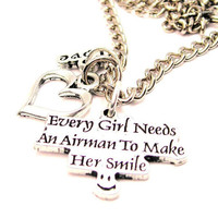 Every Girl Needs An Airman To Make Her Smile  by MyTinyTemptations