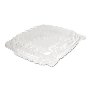 Dart® ClearSeal® Hinged-Lid Plastic Containers