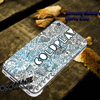 Coldplay the scientist quotes 3 Cover iPhone 4 4S iPhone 5 5S 5C and Samsung Galaxy S3 S4 S5 Case