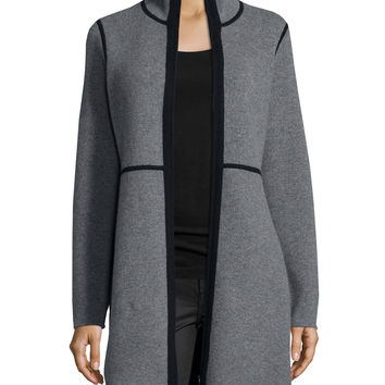 GREY/BLACK - Neiman Marcus Cashmere Collection