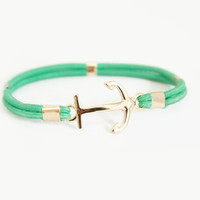 Mint Sailor Stretch Bracelet