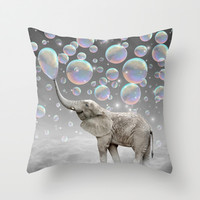 The Simple Things Are the Most Extraordinary (Elephant-Size Dreams) Throw Pillow by soaring anchor designs ⚓ | Society6