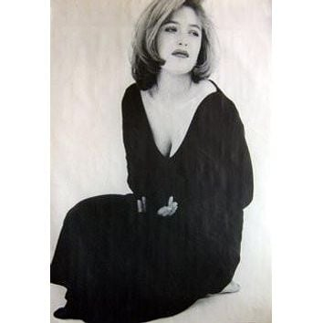 GILLIAN ANDERSON POSTER Black Dress RARE HOT NEW 24X36