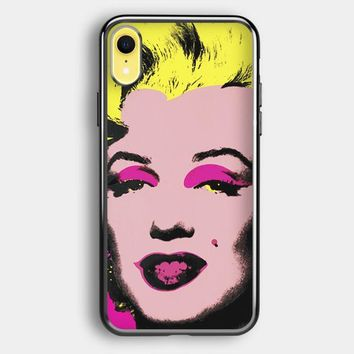 Andy Warhol Marilyn Monroe Pop Art Iconic Colorful Superstar Cute iPhone XR Case   Casefruits