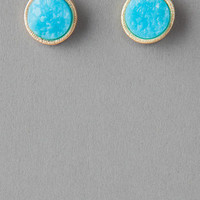 KENSLEY TEXTURED STUD EARRINGS