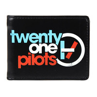 Twenty One Pilots Leather Bi-Fold Wallet