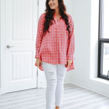 Peach Sweet Tea Tunic