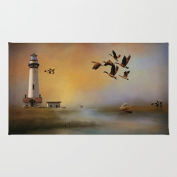 Homeward Bound Rug by Theresa Campbell D'August Art