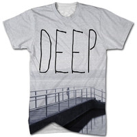 DEEP all over print t shirt