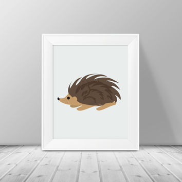Woodland Animal Nursery Decor - Instant Download, PRINTABLE 8x10, Nursery Print, Boy or Girls Room Decor