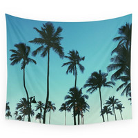 Society6 Palm Trees Wall Tapestry