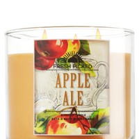 Apple Ale 14.5 oz. 3-Wick Candle   - Slatkin & Co. - Bath & Body Works