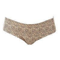 Leopard & Lace Cheeky Panties by Charlotte Russe