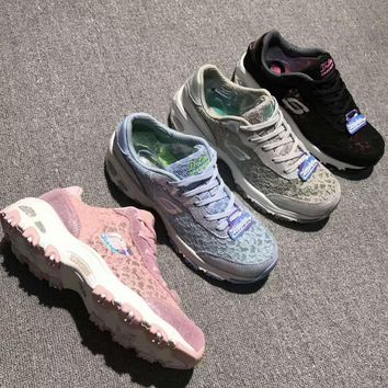 Skechers Breathable Lace fabrics casual shoes H-A36H-MY