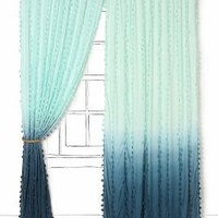 Wavering Ombre Curtain-Anthropologie.com