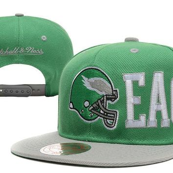 PEAPON Philadelphia Eagles Snapback NFL Football Hat M&N