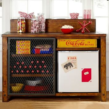 Emerson Snack Bar & Hutch Set