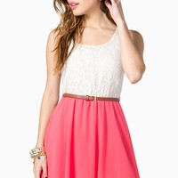 Easy Lace Tank Day Dress